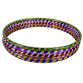Porter and Lambert Hula Hoops – Premium Quality Stripy Multicolor Weighted Hoop for Adults and Kids to Exercise…