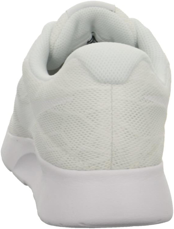Nike Tanjun, Scarpe da Ginnastica Basse Donna Bianco White Black 101 nUFSpR