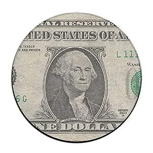 Feimao Us Dollar - Taburete Antideslizante para Silla de Comedor, Redondo, 40 cm