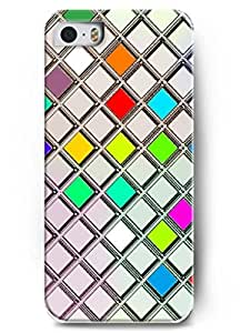 Popular Designed Stylish Series Case for iPhone 5 5S with the Design of Bright and Colorful Squares BY Xincase