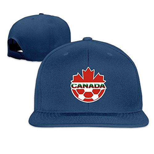 YLSD Canada Ball LogoCLASSIC Men Women Baseball Adjustable Cap Snapback Navy