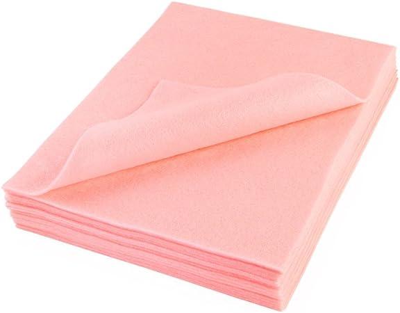 Crafting Hobby Felt Sheets X 5 Pink