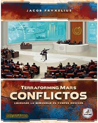 Maldito Games TERRAFORMING Mars - CONFLICTOS: Amazon.es: Juguetes ...