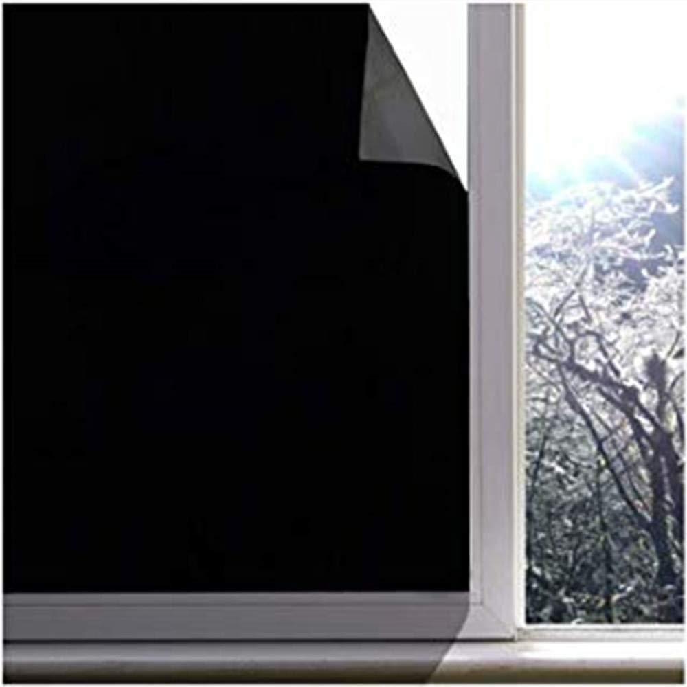 Pellicola Smerigliata Pellicola Per Vetri Privacy,vetrofania Decorativa Senza Colla Pellicola Per Vetri Statica Fresca Per Uso Domestico Ufficio Bagno Protezione UV bianco,45x200cm 90 X 200 Cm
