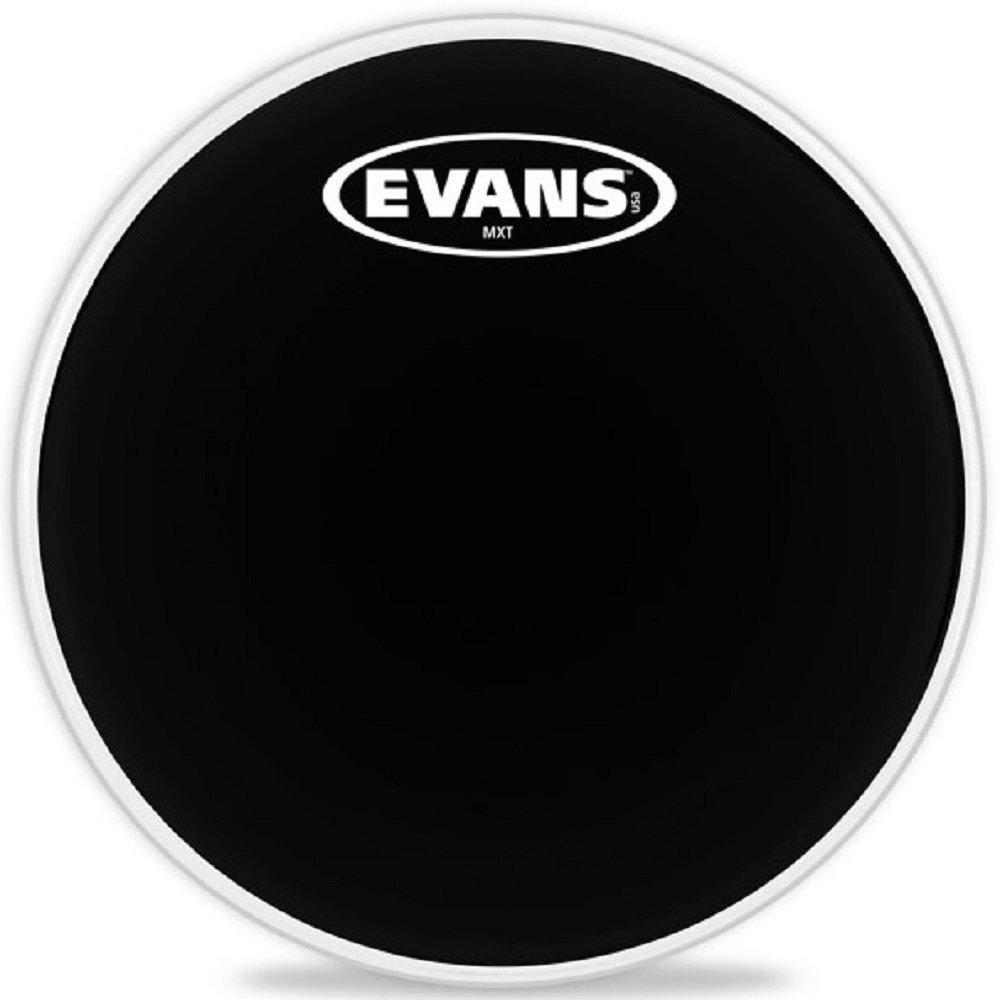 Evans MX Black Marching Tenor Drumhead, 14 Inch Evans Heads TT14MXB