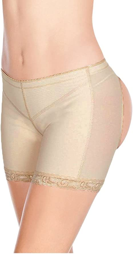 FUT Women Invisible Butt Lifter Shaper Panties Tummy Control High Waisted Boyshort