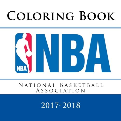 National Basketball Association Coloring Book: All 30 NBA logos to color - Unique childrens coloring book that would make a great birthday present / gift idea.