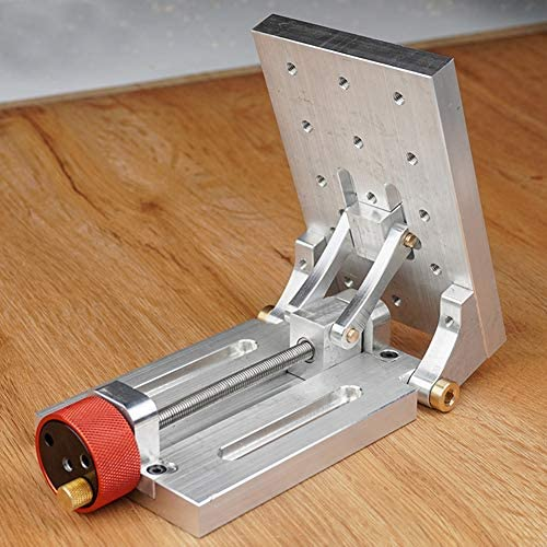 Milling Machine, Adjustable Angle Drill Worktable Practical Portable Aluminum Alloy Easy Install Power Tool Accessories Milling Working Table Machine