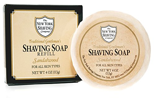 The New York Shaving Company Sandalwood Shaving Soap Refill by The New York Shaving Company