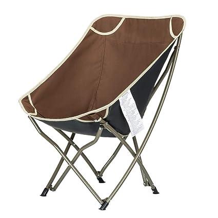 CS-LJ Silla Plegable portátil cómoda Silla de Ocio: Amazon ...