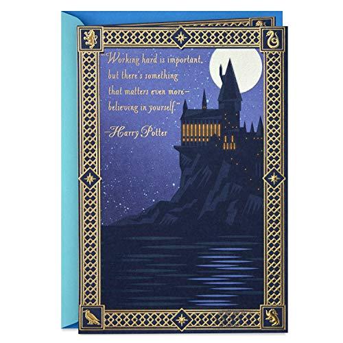 Hallmark Harry Potter Graduation Card (Keep Believing)]()