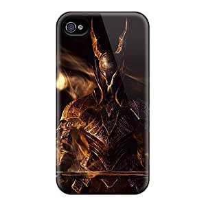 Protector Hard Cell-phone Cases For Iphone 4/4s (JbV16062wXiF) Customized Nice Dark Souls Series