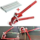 Professional 3 in 1 Pipe Bender Tool 180 Degree with 5pcs Spring Bending Tube For Plumbing Copper Aluminum