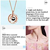 SIHUPANG S925 Sterling Silver Necklace Projection
