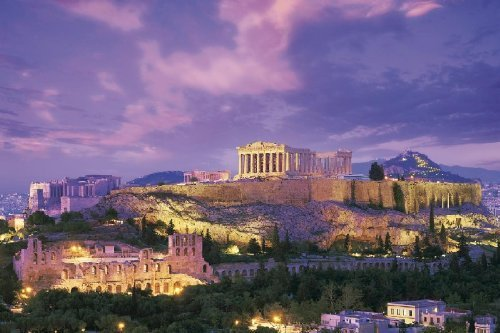 Super-expert official approval puzzle 2016 berry small piece Parthenon shrine-Greece 24-104 by Epoch (Epoch Berry)