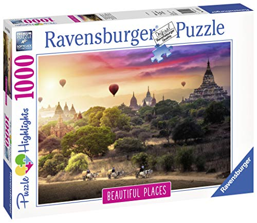 (Ravensburger Hot Air Balloons Over Myanmar 1000pc Jigsaw Puzzle)