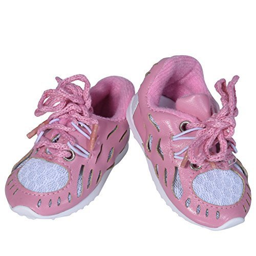 18 Inch Doll Tennis Shoes - 18 Inch Sneakers for Doll Fits American Girl by The New York Doll Collection