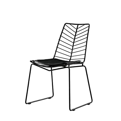Miraculous Amazon Com Lrzs Furniture Creative Hollow Wire Mesh Chair Caraccident5 Cool Chair Designs And Ideas Caraccident5Info