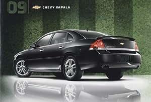 2009 Chevrolet Impala Ss >> 2009 Chevrolet Chevy Impala Sales Brochure Catalog And Impala Ss