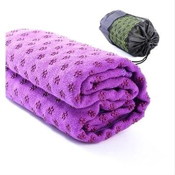 Sport Travel Exercise Anti-Slip Yoga Mat Cover Towel Blanket ...