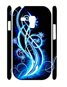 Charming Neon Florals Design High Impact Samsung Galaxy S3 Mini I8200 Phone Case