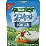 dry dip mixes - Hidden Valley Dips Mix, Original Ranch, Four 1.0 Ounce Packets (Pack of 6)