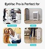 crowleyjones evpro w eye vac professional vacuum cleaner designer white corded