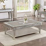 Cheap Coaster 720888-CO Coffee Table, Mercury