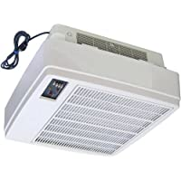 Honeywell F90A1001 Commercial Ceiling-Surface-Mounted Self-Contained Electronic Air Cleaner, Gray