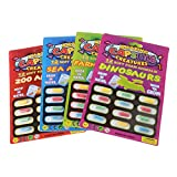 SimpleLife Magic Grow Capsules -Soft Foam Capsules-Cognition Toys - Educational Toy-4 Piece