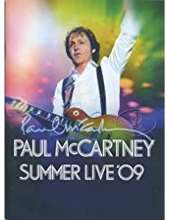 Paul McCartney 2009 Summer Live Tour Concert Program Programme Book Beatles