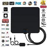 Antenna TV Digital HD indoor - 2019 Newest Digital Antenna for HDTV 120