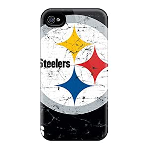Scratch Resistant Cell-phone Hard Cover For Iphone 6 With Provide Private Custom Vivid Pittsburgh Steelers Pattern AlissaDubois