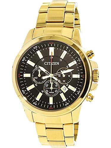 51e Watch - Citizen Men's AN8083-51E Gold Stainless-Steel Plated Japanese Quartz Dress Watch