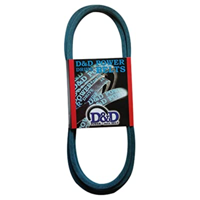 "D&D PowerDrive 156971 Sears Or Roper Or Ayp Kevlar Replacement Belt, 4LK, 1 -Band, 81"" Length, Rubber: Industrial & Scientific"