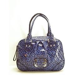 Guess LP293110 Animal Print Blue Cat Power Handbag
