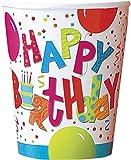 Unique Party 27176 - Bicchieri di Carta per Compleanno Jamboree, Confezione da 8
