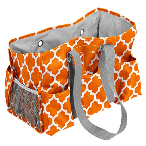 Logo Brands Tennessee Volunteers Patterned Multi-Pocketed Junior Caddy from Logo Brands