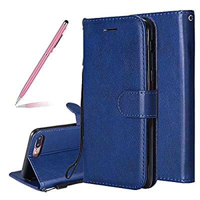 Luxury Classic Flip Wallet Magnetic Closure Slim Protective Case for iPhone 5S/5