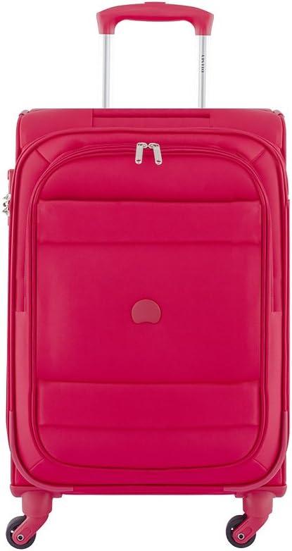 DELSEY Paris INDISCRETE Equipaje de Mano, 56 cm, 38 Liters, Rojo (Rouge)