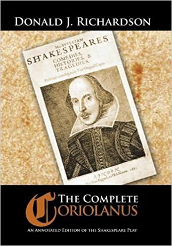 Book The Complete Coriolanus: An Annotated Edition of the Shakespeare Play