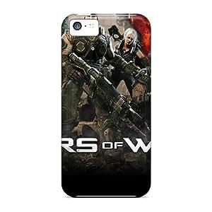 Iphone 5c WnD1081tZVi Custom Realistic Gears Of War 3 Series Protector Cell-phone Hard Cover -LisaSwinburnson