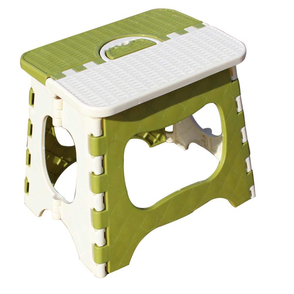 sgabello Pieghevole in plastica Portatile Pieghevole Sedia casa Mini Panca CUI XIA UK