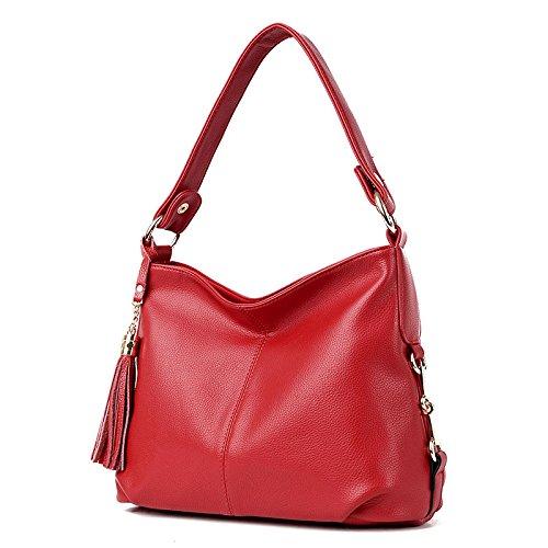 Aceite Bolsos Leathe De De De ZM Rojo Para Mujer Hombro Mujeres Bolso Cera De Mujer Moda Bolsos De Nuevos AngTaqwSY