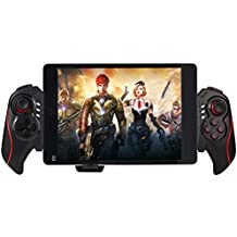 Wireless Bluetooth Game Controller Game Pad Joystick for Android Tablet Smart Phone ios iphone PC TV Box Computer Laptop PS2 PS3 (Red)