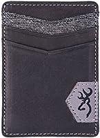 Browning Black Leather Front Pocket Wallet