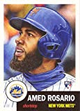 #10: 2018 Topps Living Set #23 Amed Rosario Baseball Rookie Card New York Mets - Only 7,637 made!