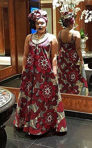 8109ea5616 Amazon.com: Ankara print maxi dress/African print maxi dress/african womens  clothing/maxi dress - Lady Seray- by GITAS Portal: Handmade