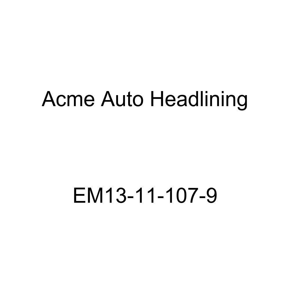 Acme Auto Headlining EM13-11-107-9 Dark Brown Replacement Headliner 1939 Cadillac Series 60 Special 4 Door Sedan - 6 Bows