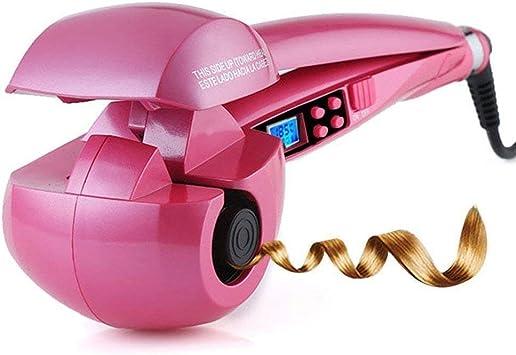 Rizador de pelo (automático, espiral mágica con pantalla LCD para ...